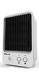Amazon.com: OPOLAR HE09 Calentador de espacio, 1500 W baño ...
