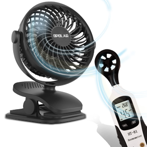 Amazon Com Opolar Battery Operated Fan Clip On And Desk