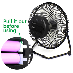 Battery Operated and USB Powered Fan | AVAILABLEGIFT