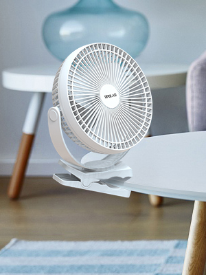clip on table fan