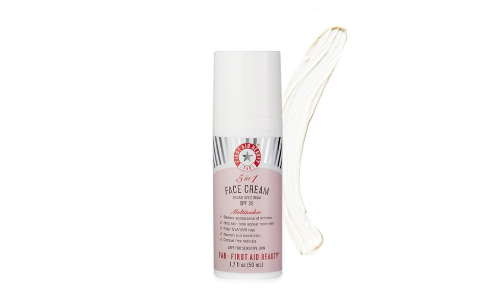 Amazon Com First Aid Beauty 5 In 1 Face Cream With Spf 30 1 7
