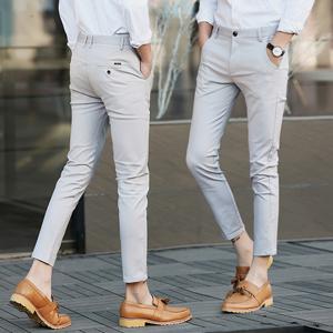 Amazon.com: Plaid&Plain pantalones de vestir ajustados para ...