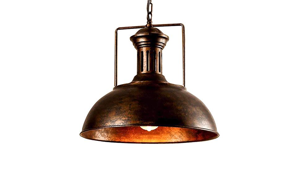 Industrial Nautical Barn Pendant Light Litfad 16 Quot Single