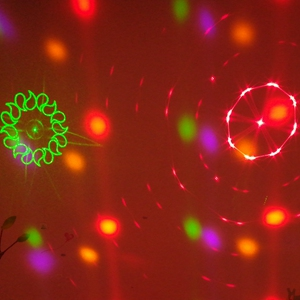 Red and green lighting
