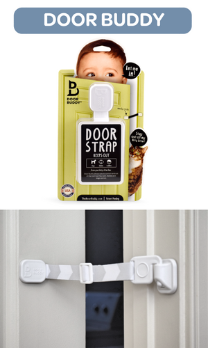 Why Door Buddy?  sc 1 st  Amazon.com & Amazon.com : Door Buddy Baby Proof Door Lock with Adjustable Strap ...