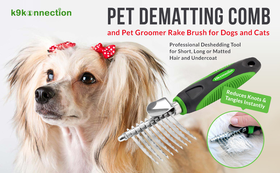 Amazon Com K9konnection Dematting Comb And Pet Grooming
