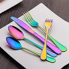 Colorful Flatware Set