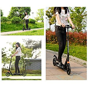 adjustable height scooter