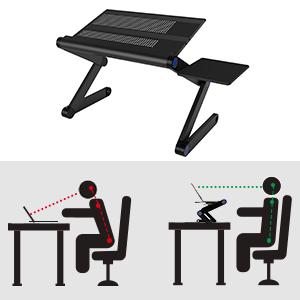 Amazon.com: Soporte ajustable para ordenador portátil ...
