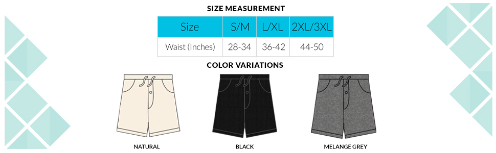 7709 - Size Chart and Color Variation