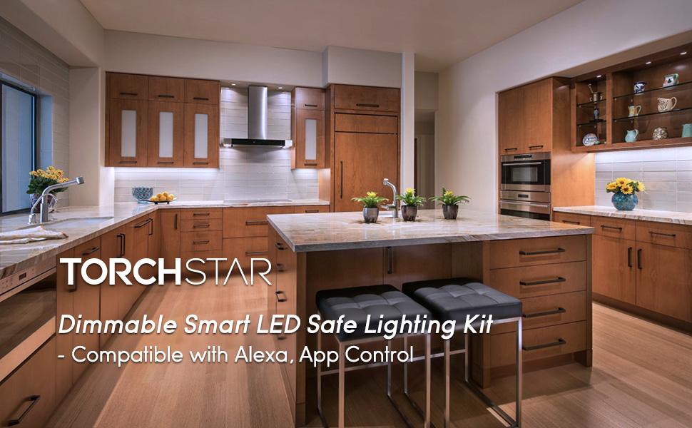Smart safe lighting kit