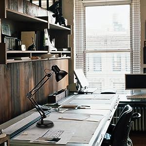 Metal Swing Arm Desk Lamp