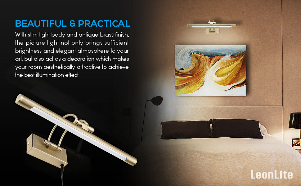 Lighting Can Cause A Big Difference Especially For A Fine Piece Of Artwork.  An Appropriate Picture Light Is Essential To Show Off Your Artwork And ...