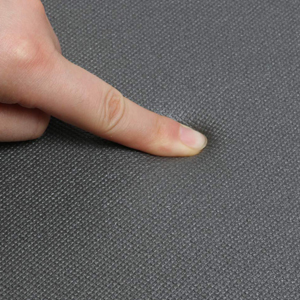 the thick cushion of the comfort rug