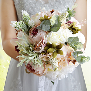 wedding bridal bouquets/bridesmaid bouquet     wedding bouquet