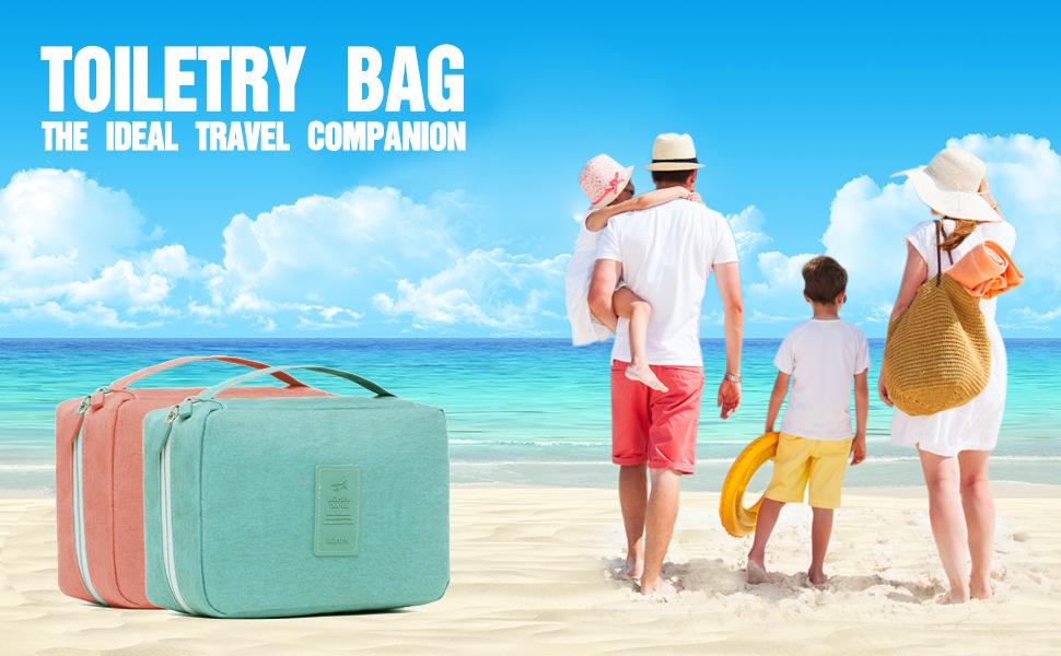 Toiletry bag, travel toiletry bag, womens toiletry bag, cosmetic travel bag, travel makeup bag