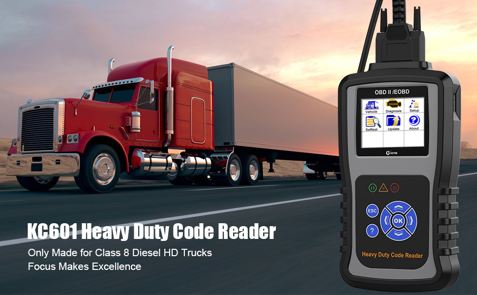 heavy duty truck code reader