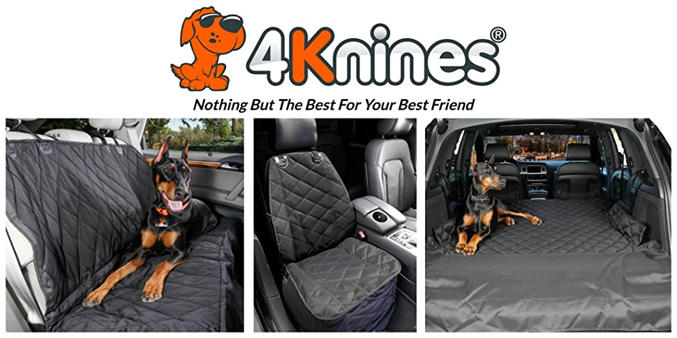 4Knines Was Founded By Jim And Maggie With Their Two Dobermans Ares Ana After Riding In The Car
