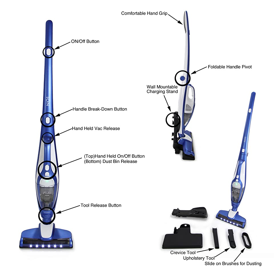 Prolux Ion Battery Powered Bagless Cordless Stick Vac Work With Lipo Charger This Balancer Can Be Used To 2 3 High End Vacuum That Is Designed Make Cleaning Easy