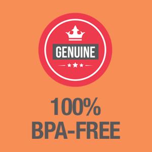 All ICONIQ Straw Caps are 100% BPA-FREE