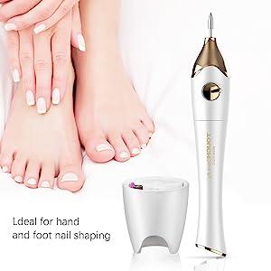 use for fingernail and toenail care.