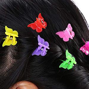 Mini Butterfly Hair Clips