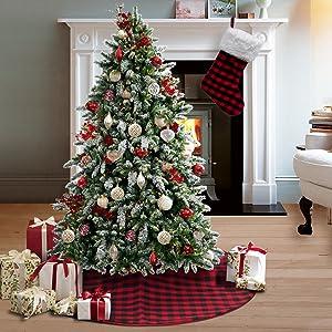 Tree Skirt and Christmas Stocking