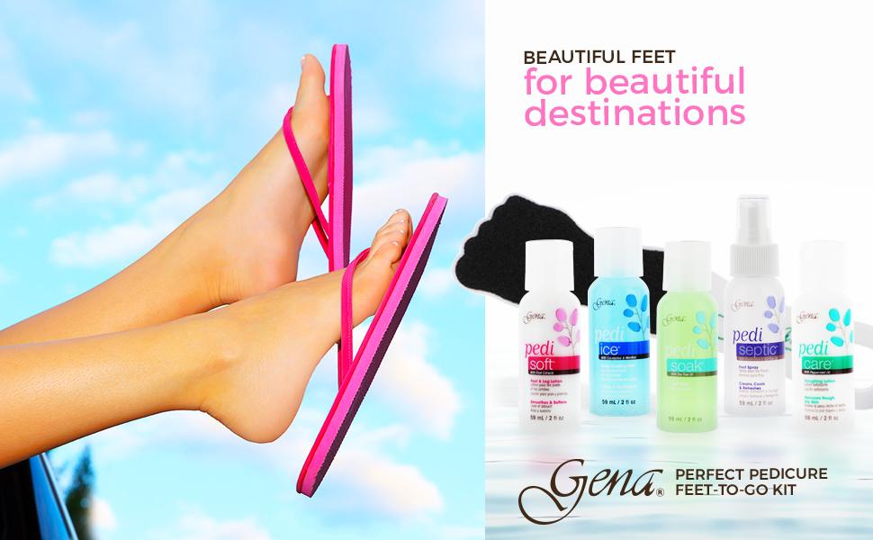 Gena Feet-to-Go Travel Kit