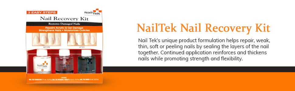 Nail Tek New Restore Damaged Nails Kit