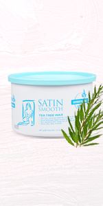 Satin Smooth Tea Tree Wax, 14 oz