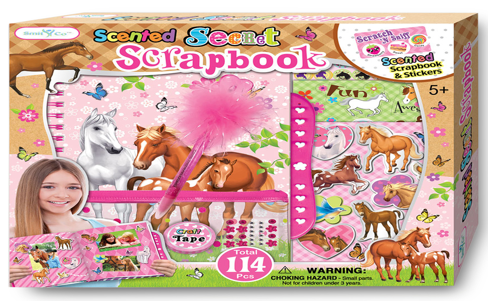 SMITCO Scrapbook For Girls