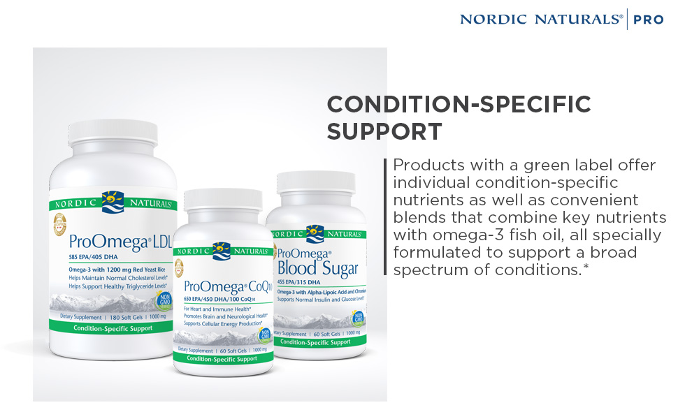 Condition-Specific Support Pro Nordic Naturals