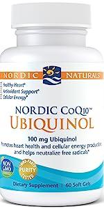 ubiquinol, coq10, nordicnaturals