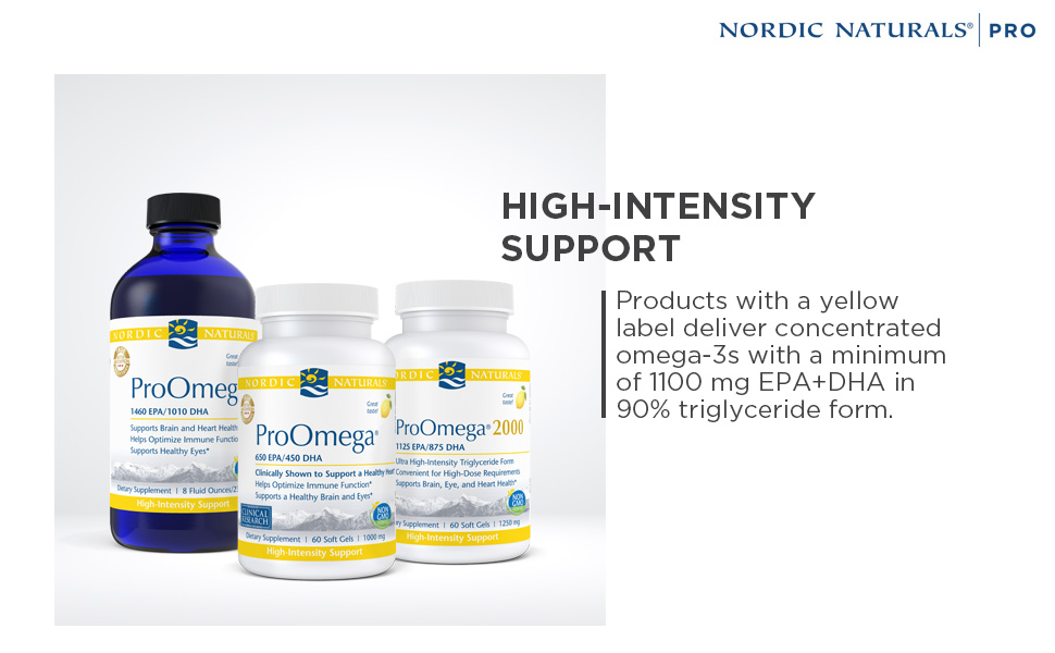 High Intensity Support Nordic Naturals Products