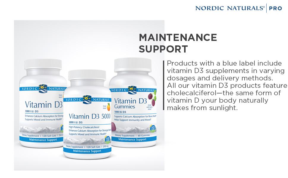 Maintenance Support Pro Nordic Naturals