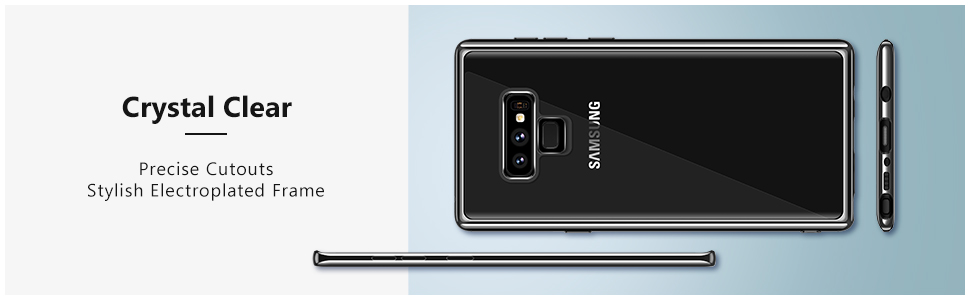 clear note 9 case
