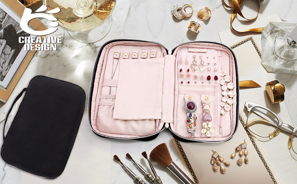 Amazon.com: Organizador de joyería de diseño creativo ...