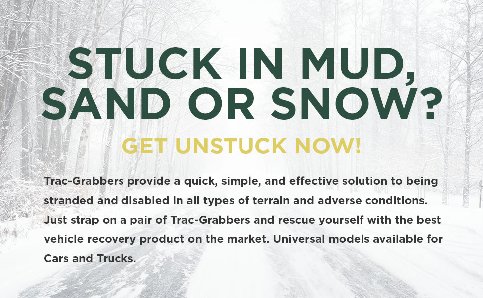 Amazon Trac Grabber Snow Mud And Sand Tire Traction Device