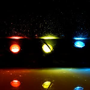 Amazon Com Submersible Led Fountain Lights Image