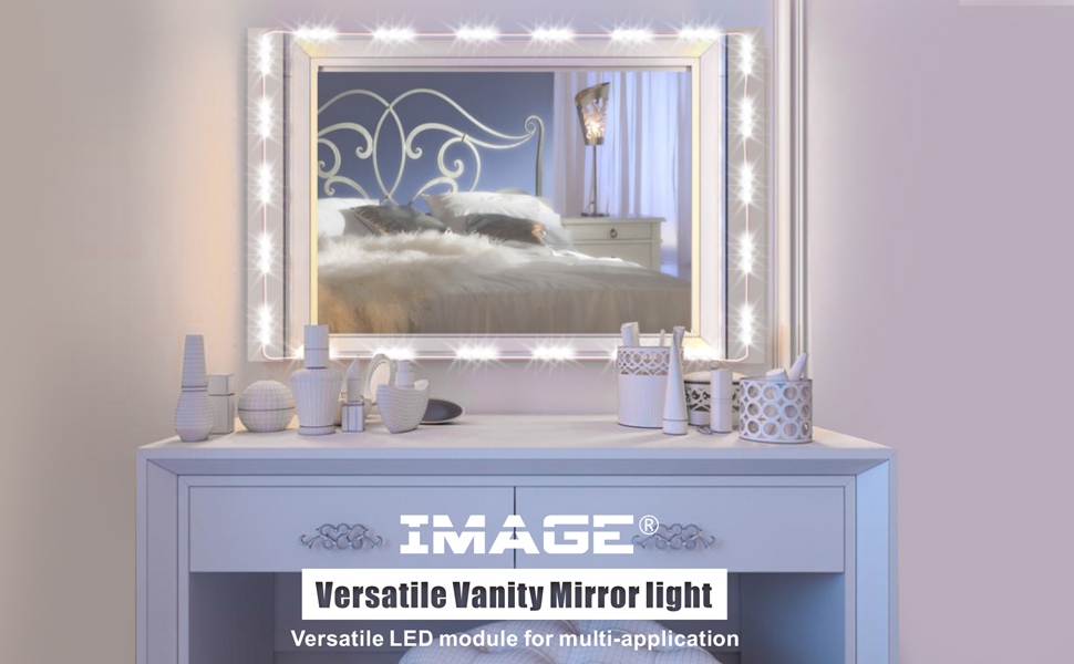 this versatile led module adopts a high color rendering index led which enables clearer vision making it especially suitable for vanity mirror lights - Vanity Mirror With Lights For Bedroom