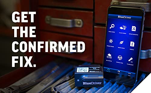BlueDriver app will work with the official sensor.