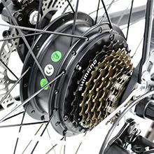 36V350W Brushless Gears Motor