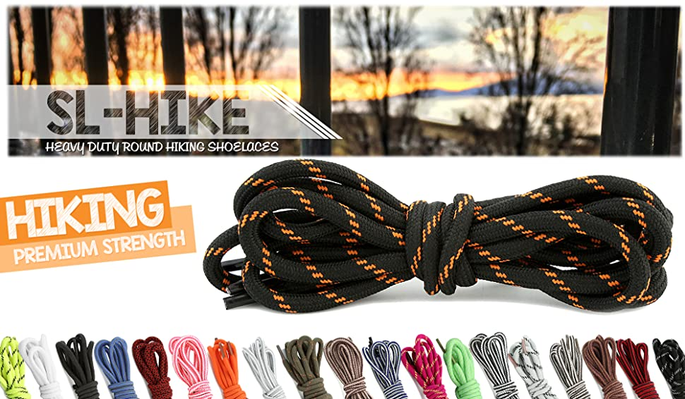 best factory outlet sale online Amazon.com: (2 PACK PAIRS) DailyShoes Round Hiking Shoelaces ...