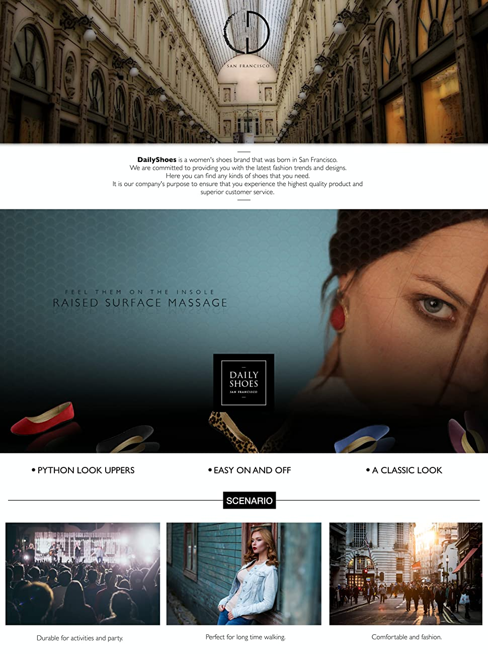 76e35beda8 Amazon.com   DailyShoes Women's Classic Flats Comfortable Upper ...