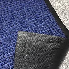Heavy duty durable non-slip rubber doormat