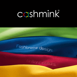 Cashmink Vibrant Exclusive Woven Technique Quality hypoallergenic water repelant