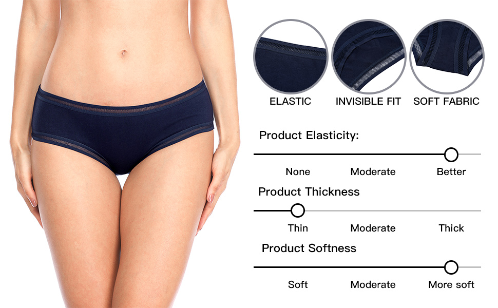 0b951a8f251 V FOR CITY Women s Underwear Cotton Hipster Panties Briefs ...