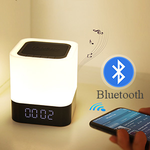 alarm clock with bluetooth speaker alarm clocks for bedrooms