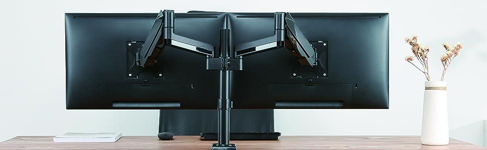 2 monitors arm