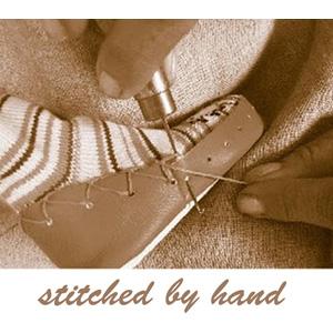 hand stitched slipper socks